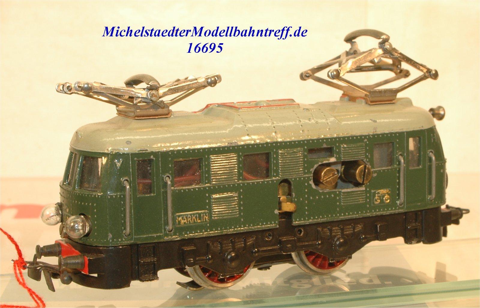Märklin RS 800.2 E-Lok Achsfolge B, (16695)