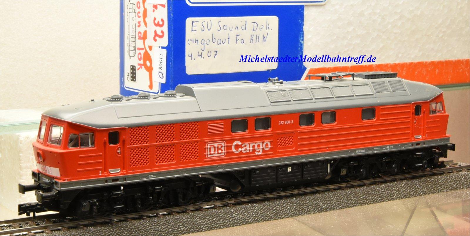 Roco 63689 Diesellok BR 232 DB, digital, Sound, (11908)