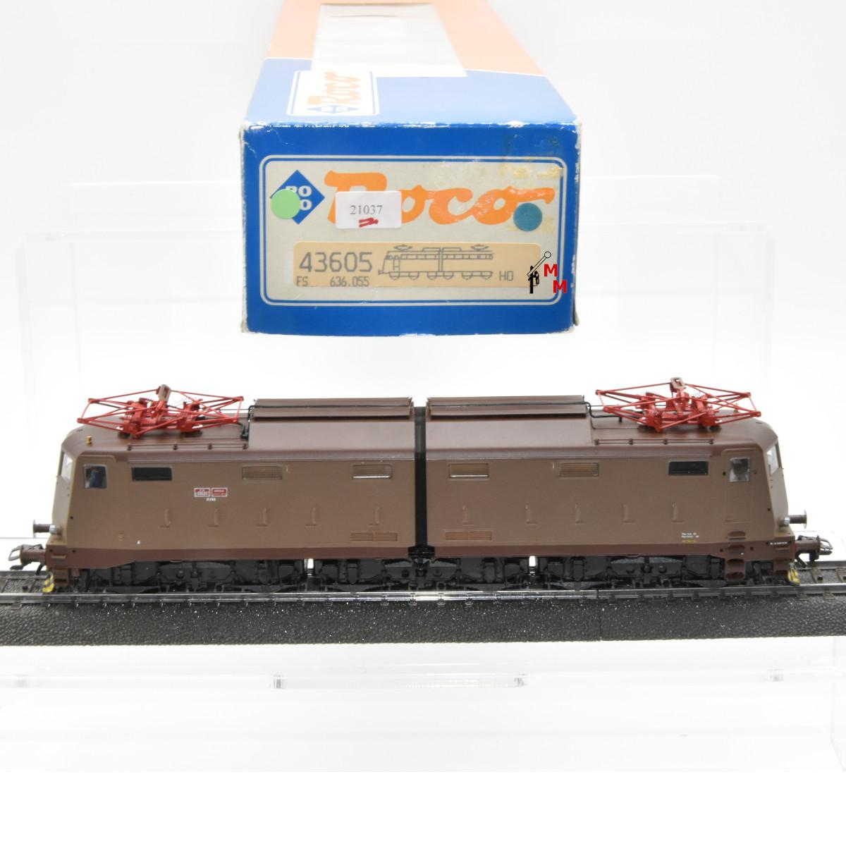 Roco 43605 E-Lok Serie E 636 der FS, (21037)