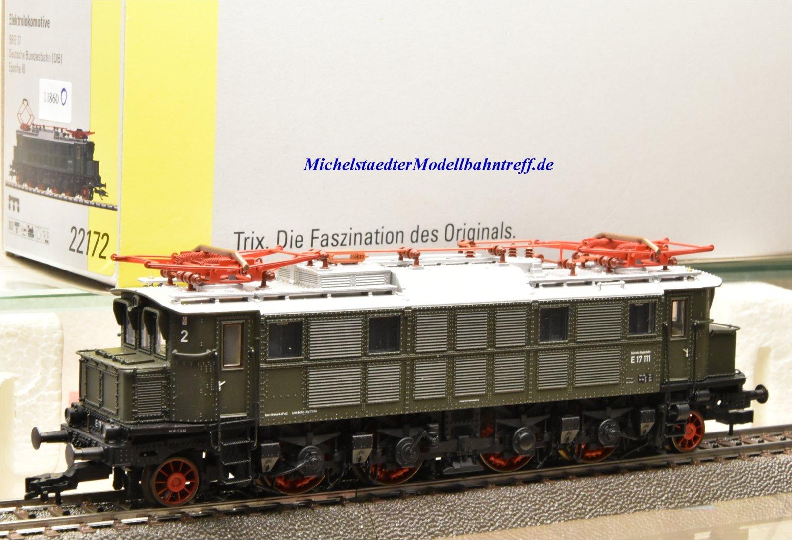 Trix 22172 E-Lok BR 17, DB, digital, (11860)