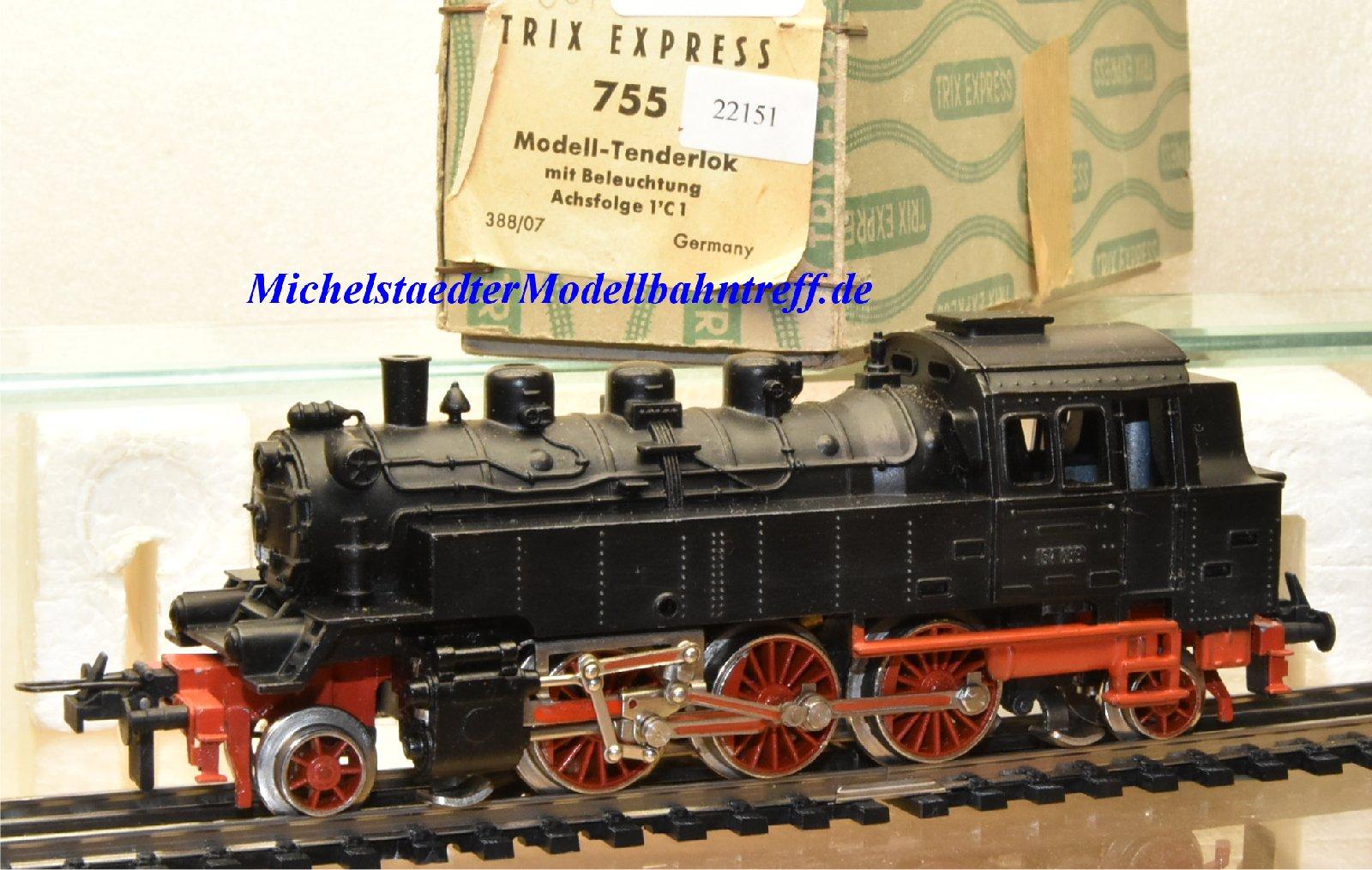 Trix Express 755 Dampflok BR 64 der DB, (22151)