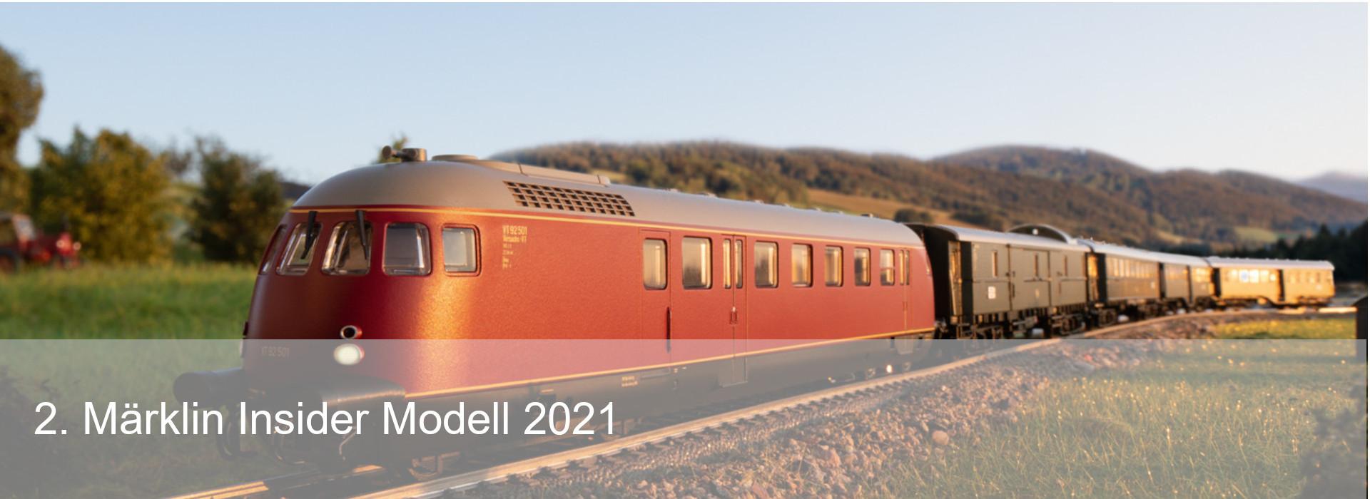 Slideshow 2. Märklin Insider Modell 2021