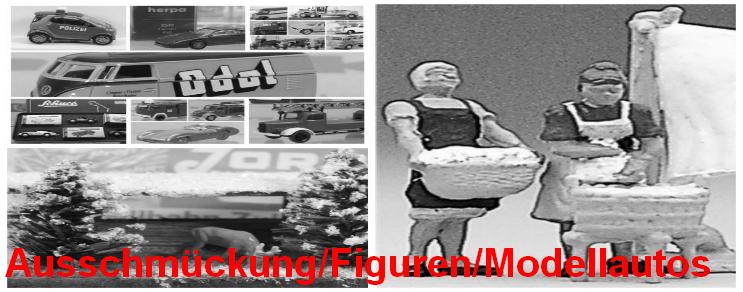 Ausschmückung / Figuren / Modellautos