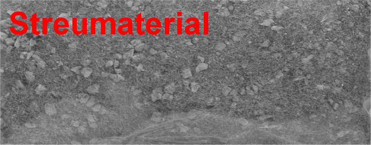 Streumaterial