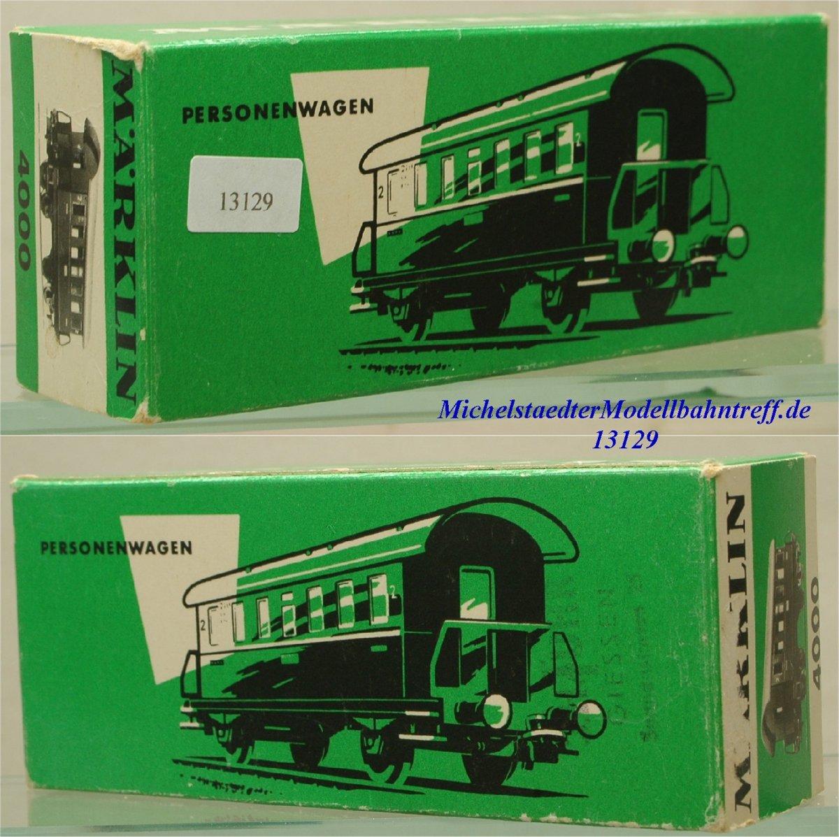 Märklin L 4000 Nebenbahn-Personenwagen, (13129)