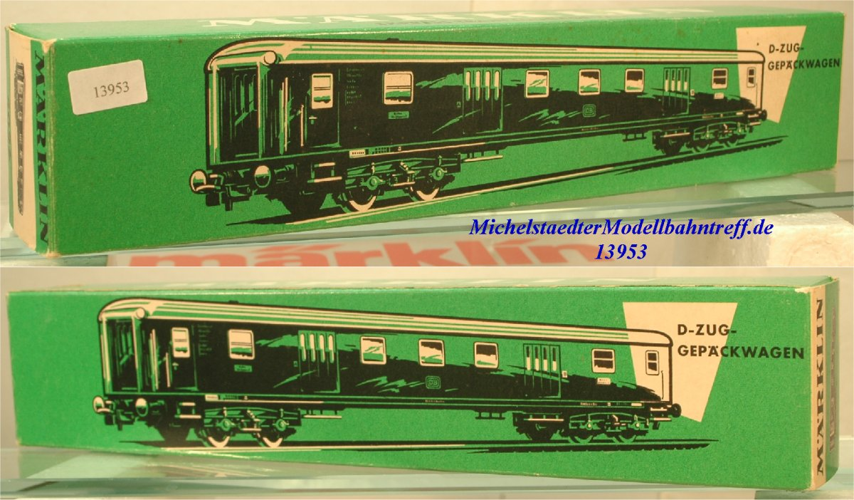 Märklin L 4294 Leerkarton D-Zug-Speisewagen, (13126)